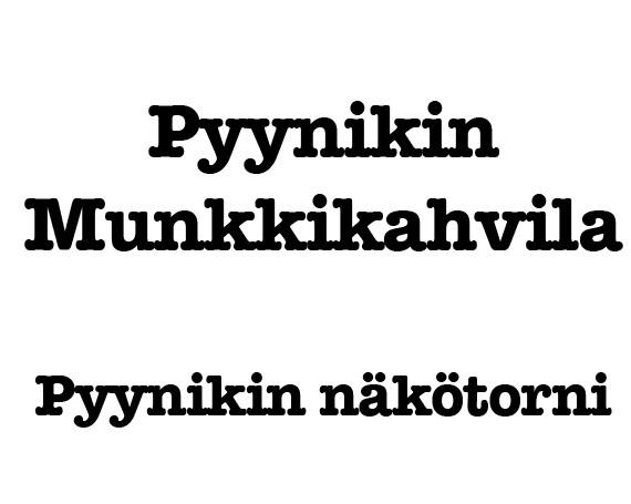 Pyynikin Munkkikahvila // Näkötorni